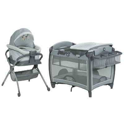 Graco Pack 'n Play Day2Dream Playard & Bedside Sleeper - Mullaly