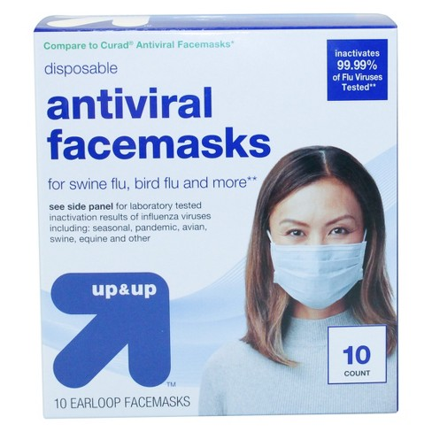 Face Anti-viral Up Mask amp;up™ - 10ct