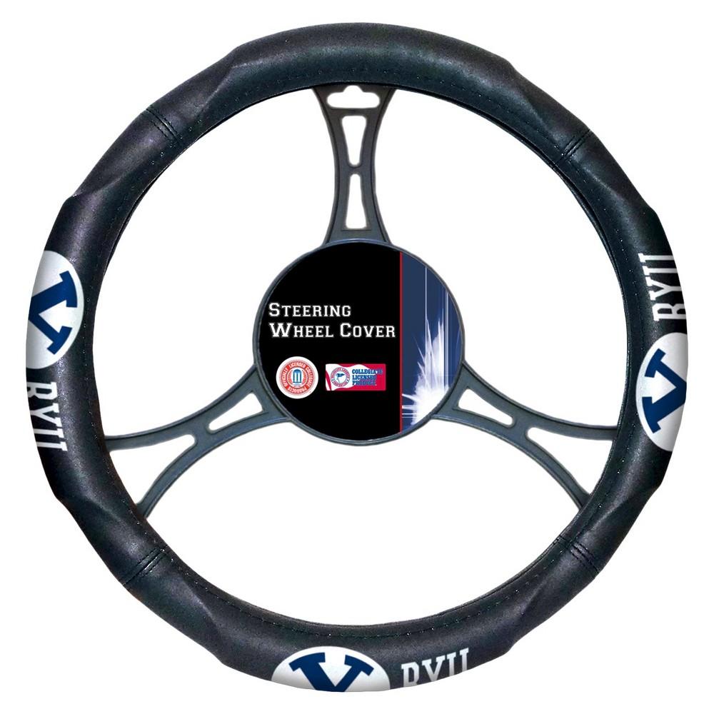 Ncaabyu Cougars Steering Wheel Cover, Byu Cougars