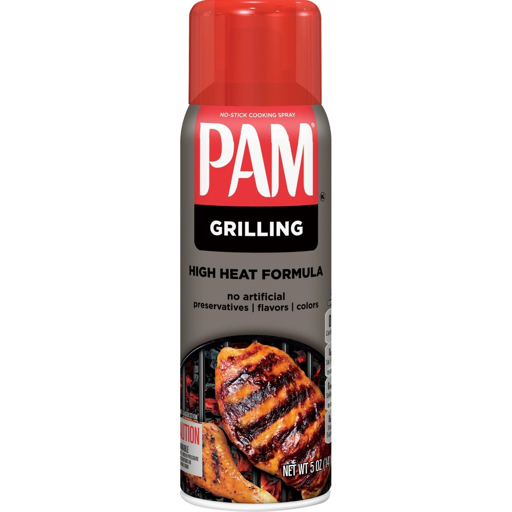 Pam For Grilling Canola Oil Spray 5oz