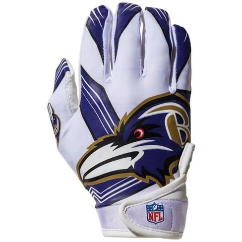 baltimore ravens youth football gloves