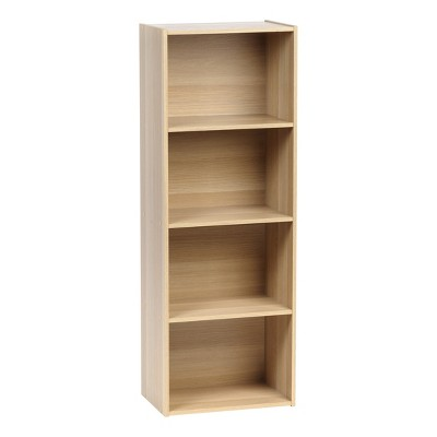 IRIS 4 Tier Storage Shelf Light Brown