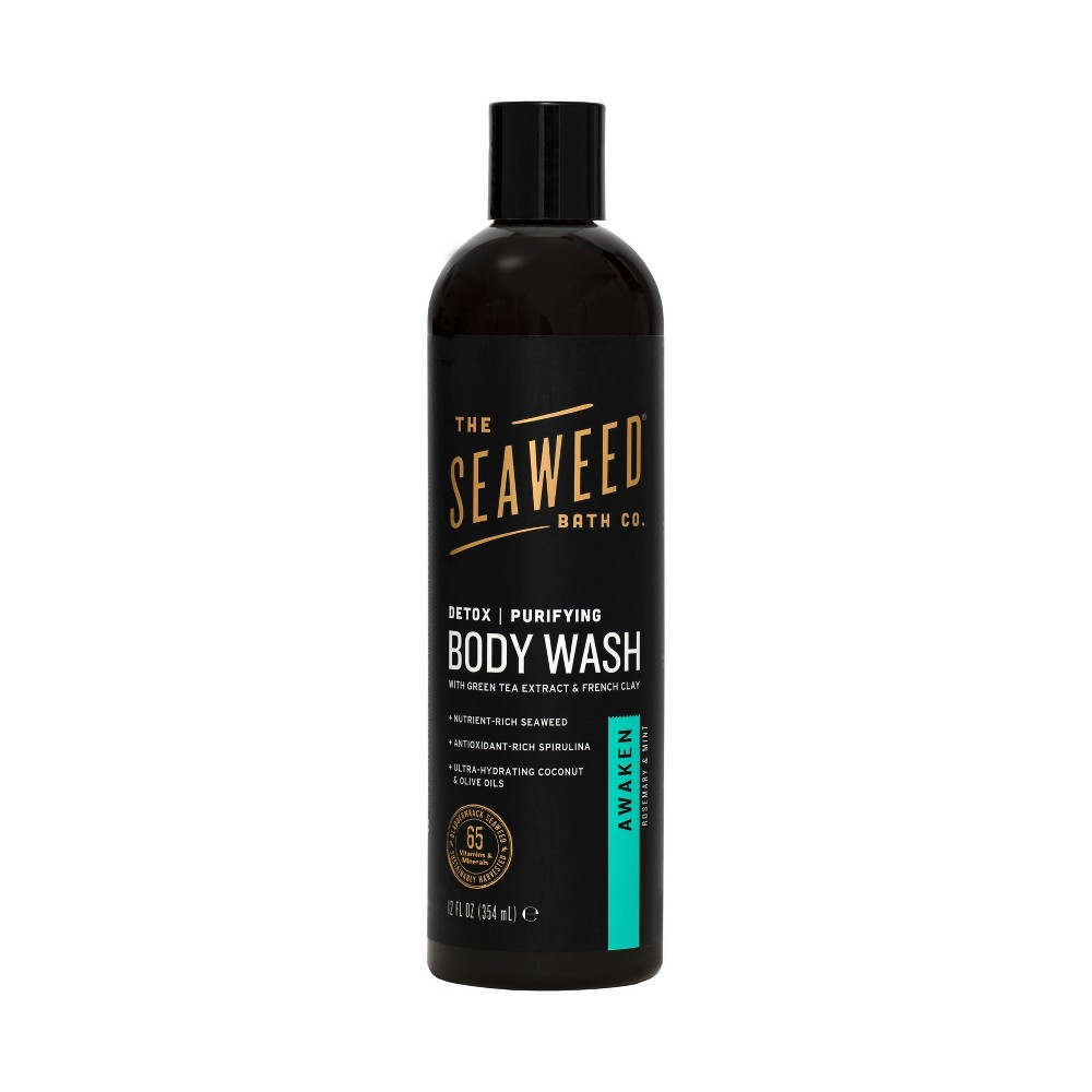 Image of The Seaweed Bath Co. Purifying Detox Body Wash - Awaken - 12 fl oz