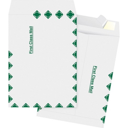 Business Source 100ct Dupont Tyvek 1st Class Catalog Envelopes - image 1 of 1