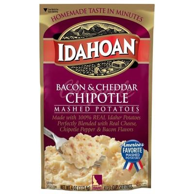 Idahoan Bacon & Cheddar Chipotle Mashed Potatoes - 4oz