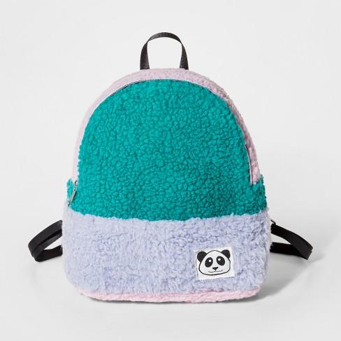 6e3d9eb519 Girls  Sherpa Mini Backpack - Cat   Jack™   Target
