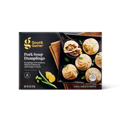 Frozen Pork Soup Dumplings - 6oz/6ct - Good & Gather™