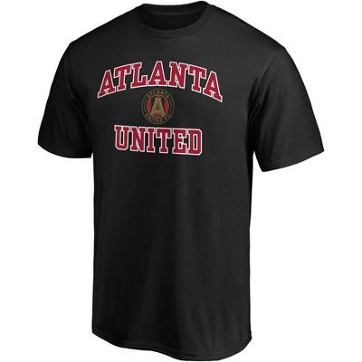 MLS Atlanta United FC Men's Short Sleeve Crew Neck Core T-Shirt