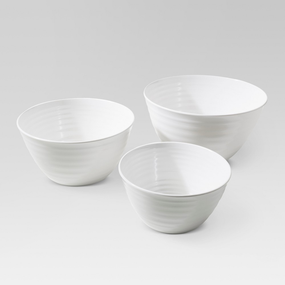 Image of Bowls White Solid - Threshold