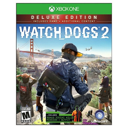 Watch Dogs 2 Deluxe Edition Xbox One - image 1 of 6