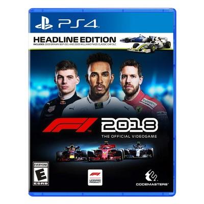 F1 2018: Headline Edition - PlayStation 4