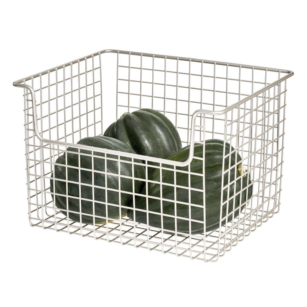 Idesign 12 34 X10 34 X7 75 34 Classico Open Wire Basket Silver