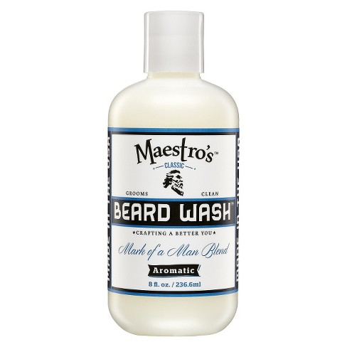 Maestro's Classic Beard Wash Mark of a Man Blend – 8 0 oz