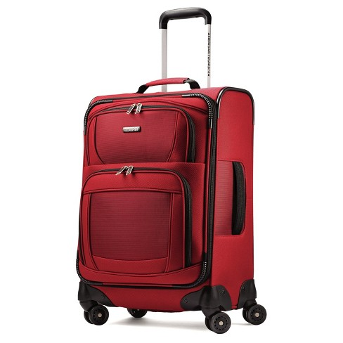American Tourister Aerospin 21 Spinner Carry On Suitcase Red