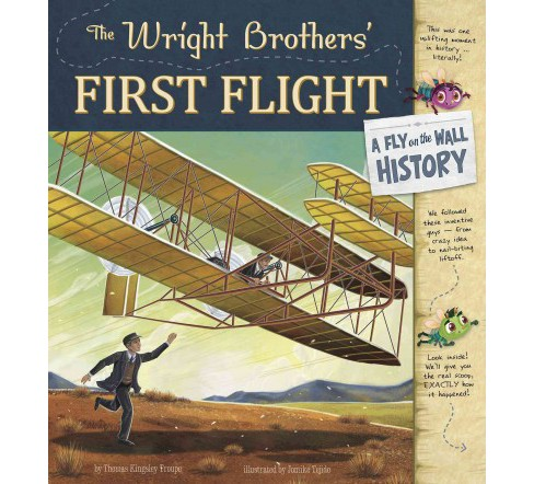 Wright Brothers' First Flight (Paperback) (Thomas Kingsley Troupe) - image 1 of 1