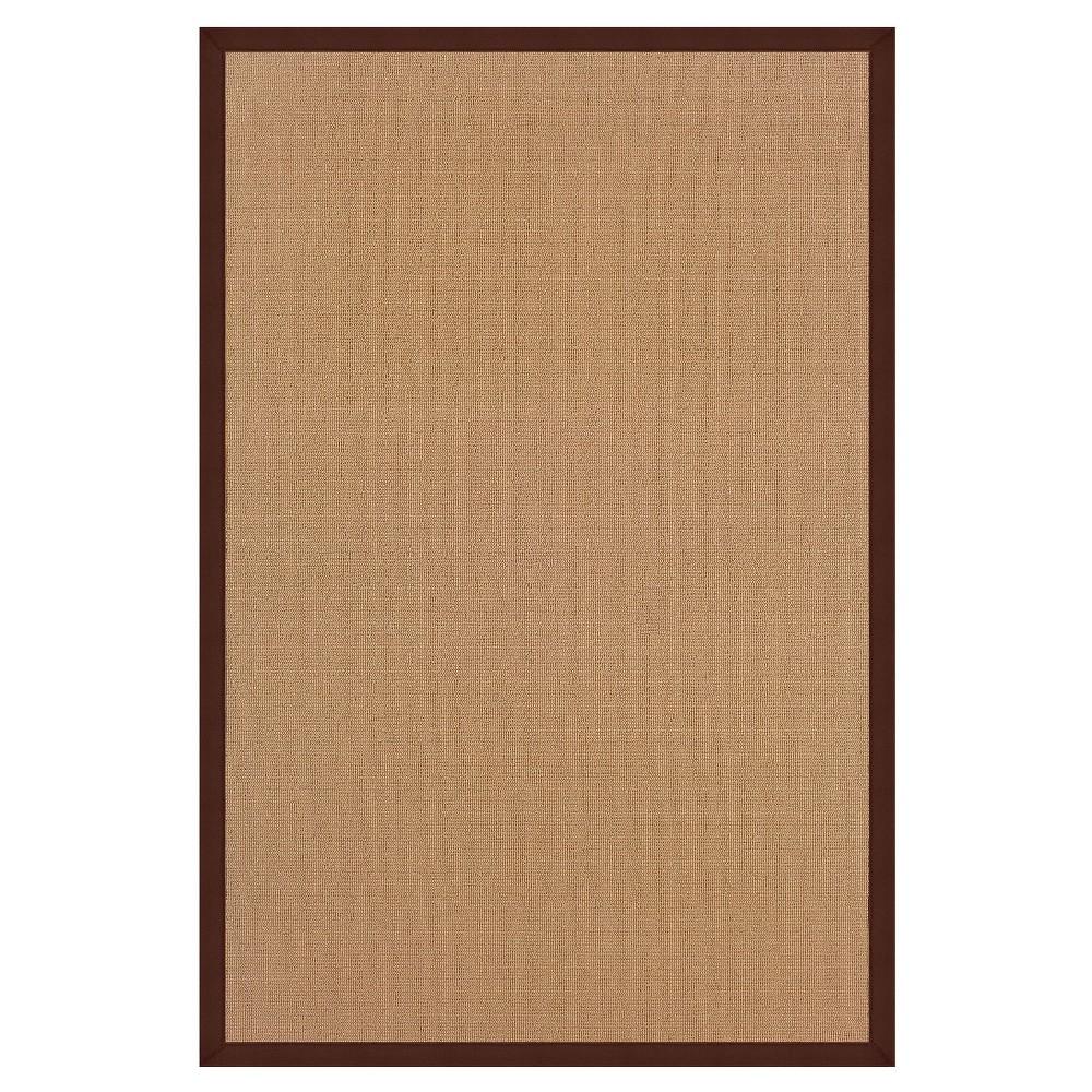 Athena Wool Area Rug - Brown (5' X 8')