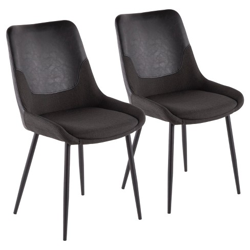 Set of 2 Wayne Industrial Two Tone Chair - LumiSource - image 1 of 4