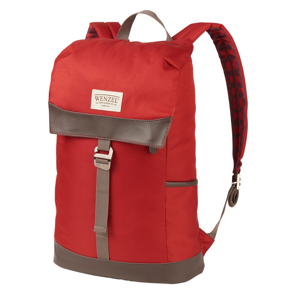 Wenzel Tribute Stache Daypack - Red Plaid (20lt)