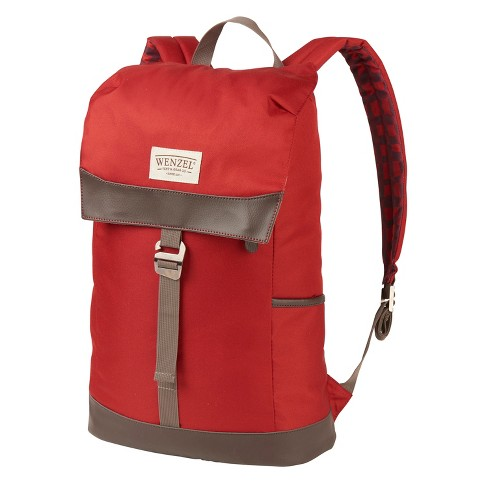 Wenzel Tribute Stache Daypack - Red Plaid (20lt) - image 1 of 6