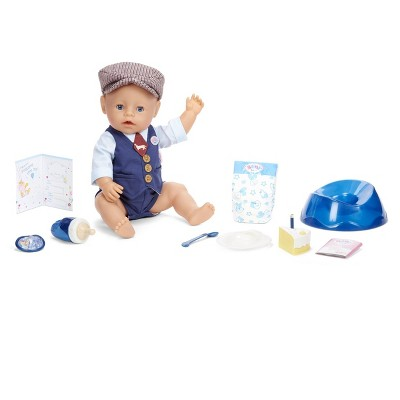 BABY born Interactive Boy Doll - Blue Eyes