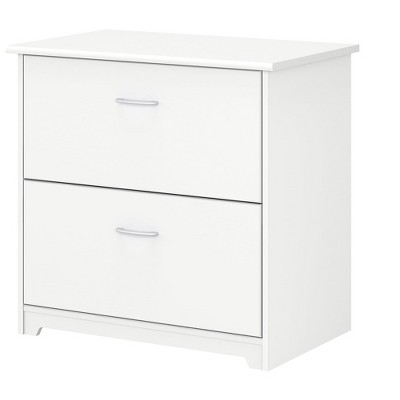 Bush Business Furniture 2-Drawer Lateral File Cabinet Not Assembled Letter/Legal White 31.26W