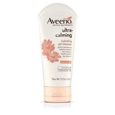 Aveeno facial cleansers
