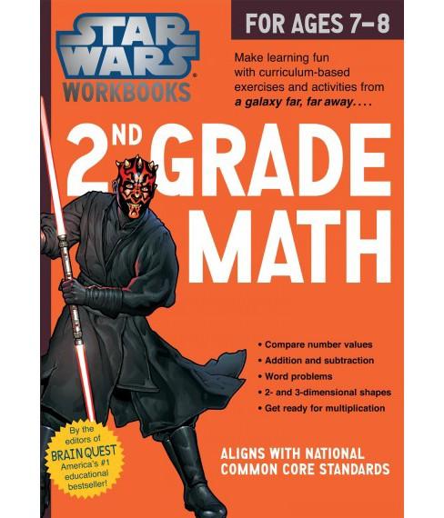 Star Wars 2nd Grade Math For Ages 7 8 Star Wars Workbooks