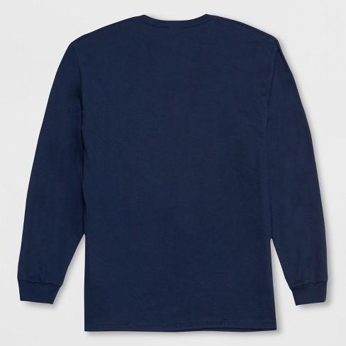 Mens Long Sleeve Stranger Things Friends Dont Lie Crew T Shirt
