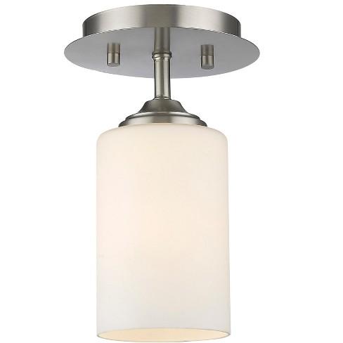 Z-Lite 435F1 Bordeaux 1 Light Flush Mount Ceiling Fixture - image 1 of 1