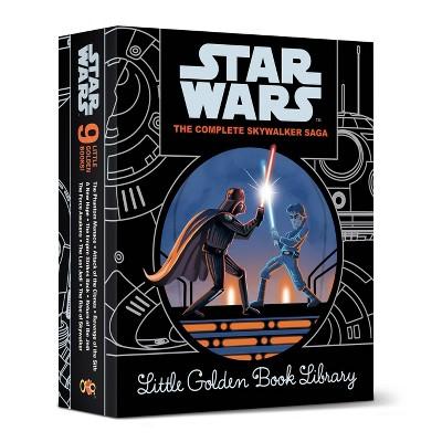 Star Wars Episodes I - IX Little Golden Book Library (Star Wars)(Hardcover)