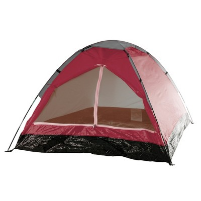 Wakeman Outdoors Happy Camper Two Person Tent - Brick Red