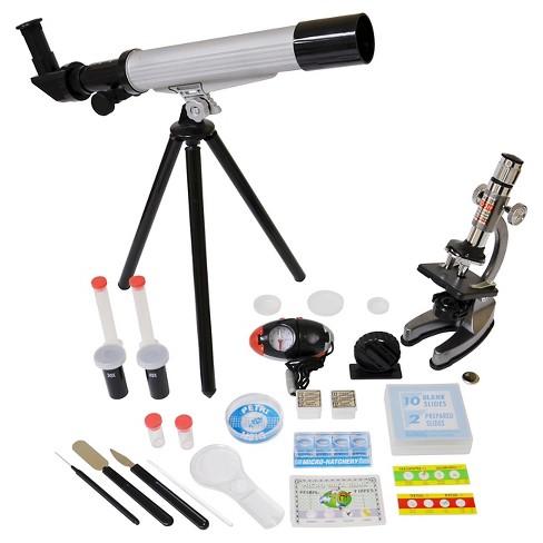 EDU-Toys Microscope/Telescope Set w/Survival Kit - image 1 of 2