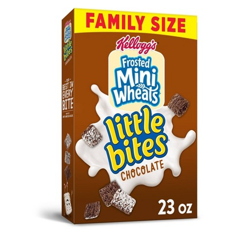 Frosted Mini Wheats Chocolate Breakfast Cereal - 23oz - Kellogg's - image 1 of 4