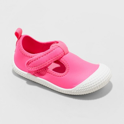 Toddler Girls' Florie Aqua Sock Water Shoes - Cat & Jack™ Fuchsia 8