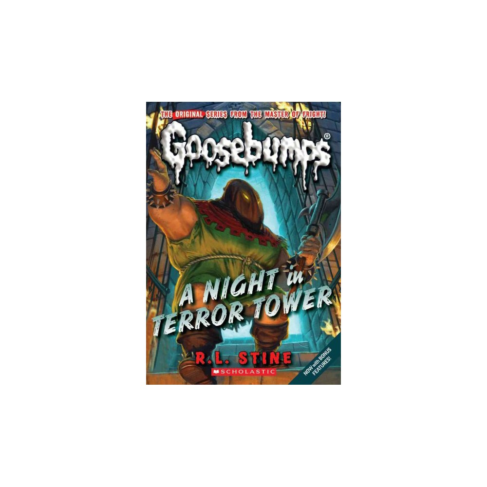Night in Terror Tower - Reissue (Goosebumps) by R. L. Stine (Paperback)