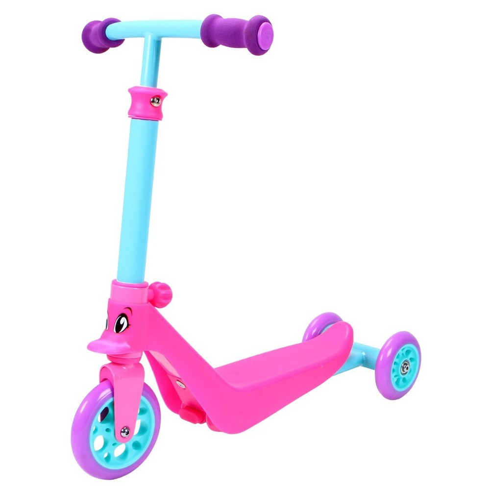 Madd Gear Zycom Zykster 2-in-1 3-Wheel Scooter - Pink/Teal/Purple