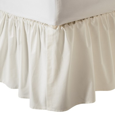 TL Care Cotton Percale Crib Skirt