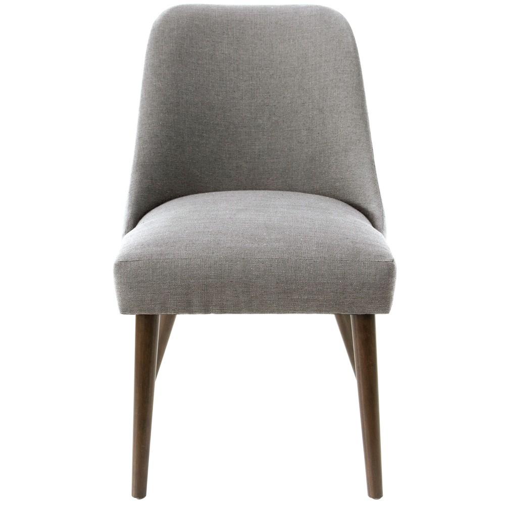 Geller Modern Dining Chair Gray Linen - Project 62