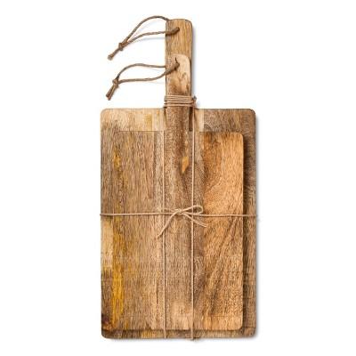 Mango Wood Chopping Board Set - Threshold™