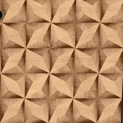 3D Prints Rustic Brown