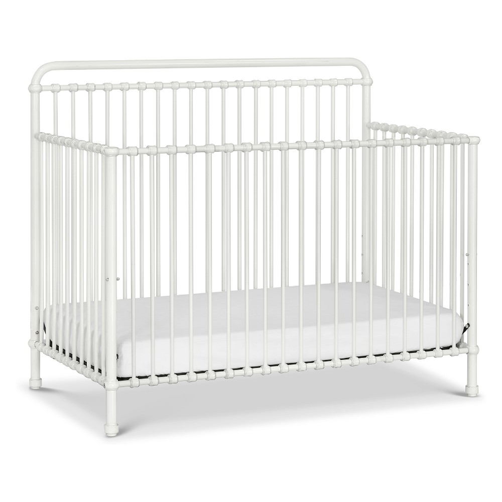Image of Million Dollar Baby Classic Winston 4-in-1 Convertible Crib - Washed White