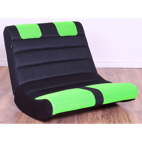 Incredible Gaming Chairs Black Green The Crew Furniture Evergreenethics Interior Chair Design Evergreenethicsorg