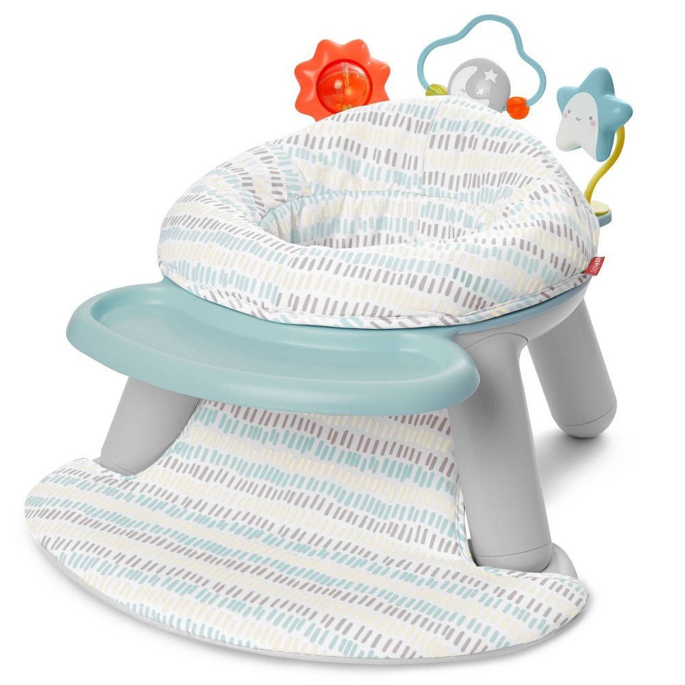 Image of Skip Hop Baby Seat Silver Lining Cloud 2-in-1 Sit-up Chair & Activity Seat
