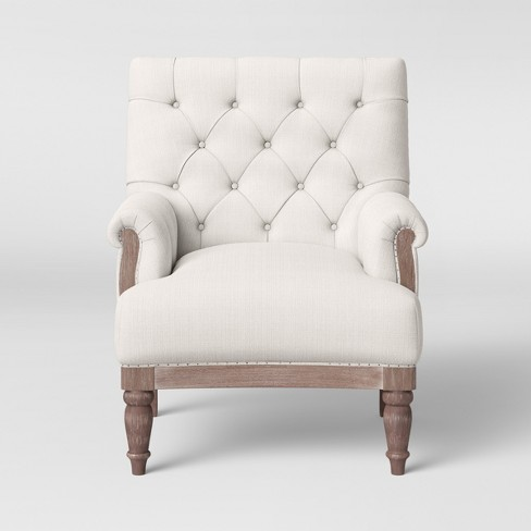 Alford Rolled Arm Tufted Chair Threshold Target