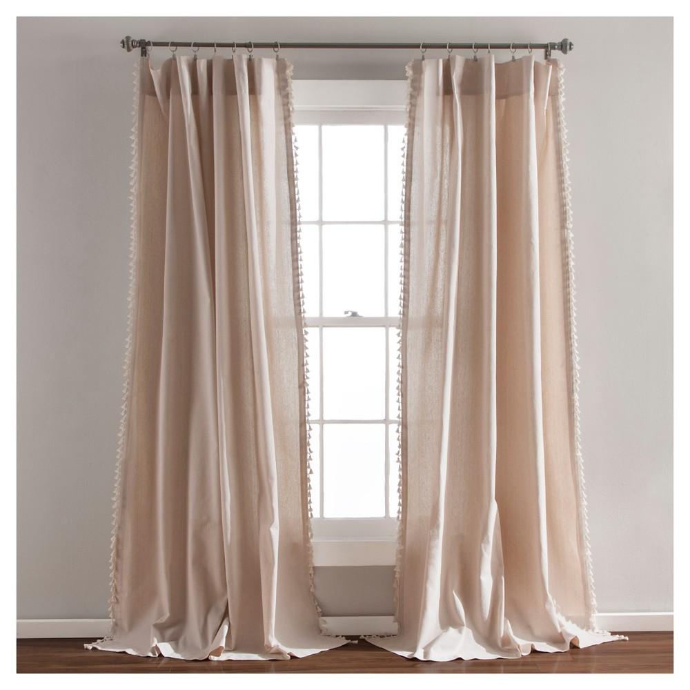 Urban Tassel Window Curtain Set (84 x 52