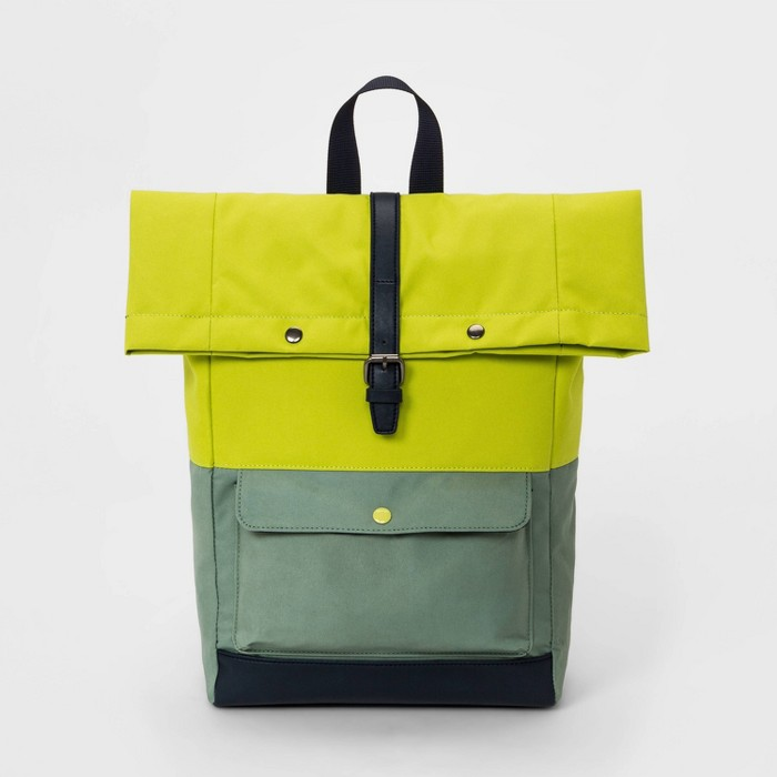 Boys' Backpack - Cat & Jack™ Green - image 1 of 4