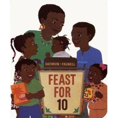 Feast for 10 by Cathryn Falwell (Board Book)