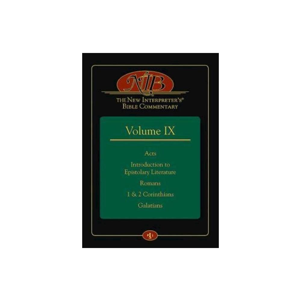 The New Interpreter S R Bible Commentary Volume Ix Hardcover