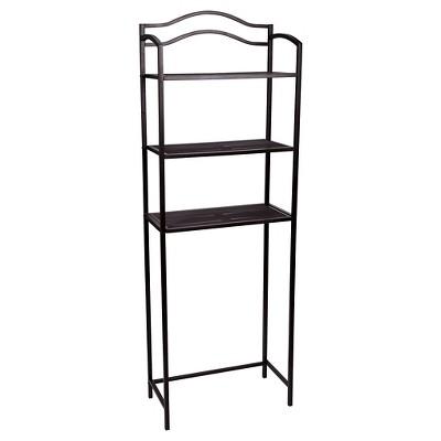 Household Essentials® 3-Tier Decorative Bath Shelf - Brown
