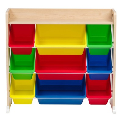 IRIS 3 Tier Storage Bin Rack with Shelf Primary